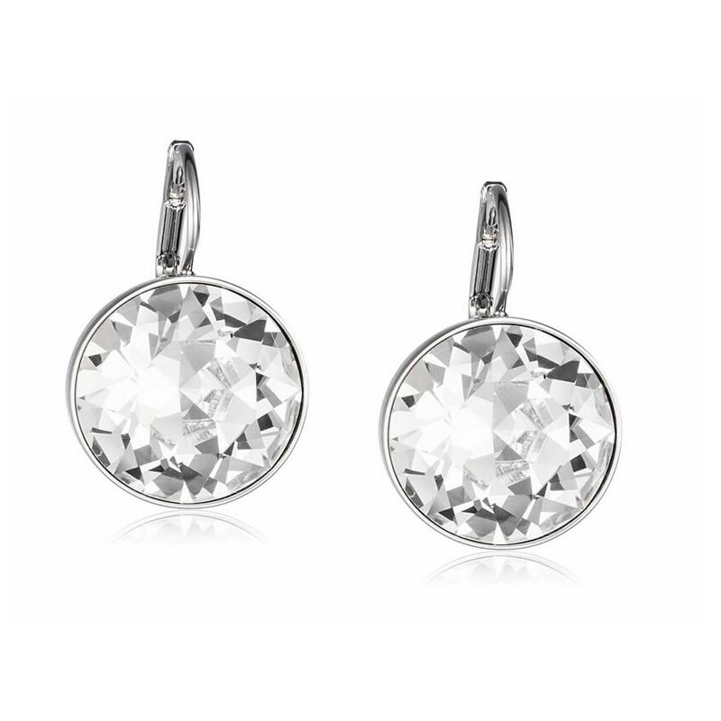 Labekaka Clear Crystal from Swarovski Earrings Bella Pierced Drop Dangle  Earrings For Women 7313dcd4ce