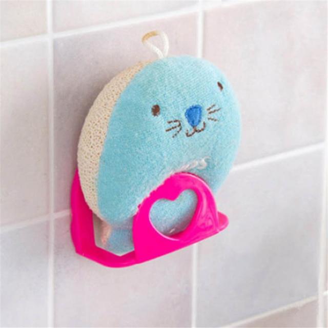 Suction Cup kitchen Sink Sponge Shelf Rack Holder Multi-functional Bathroom Shelf Towel Soap holder Kitchen Organizer cocina 5