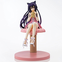 Date A Live Yatogami Tohka Princess Sandalphon Cat Ear Beautiful Girl PVC Action Toy Japanese Anime Figures Collectible Figurine