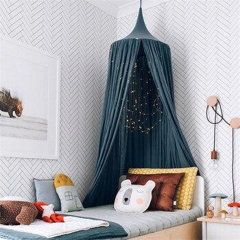 Baby Room Wall Decoration Single Door Hanging Net Children Bedroom Decor Cotton Kids Girls Mantle Nets Tents