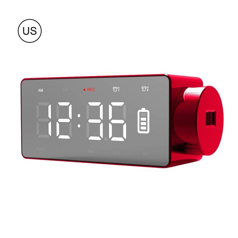 Sans fil Bluetooth haut-parleur réveil Audio stéréo basse sans fil charge rapide avec téléphone Mobile pour Samsung livraison rapide