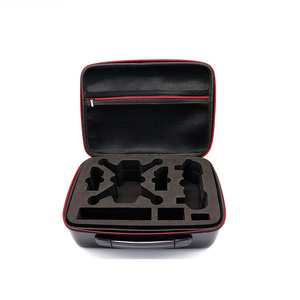 Image 4 - Bag for Spark Waterproof Storage Bag  Carbon Fiber Portable Carry Case Handbag For DJI SPARK Drone Accessories