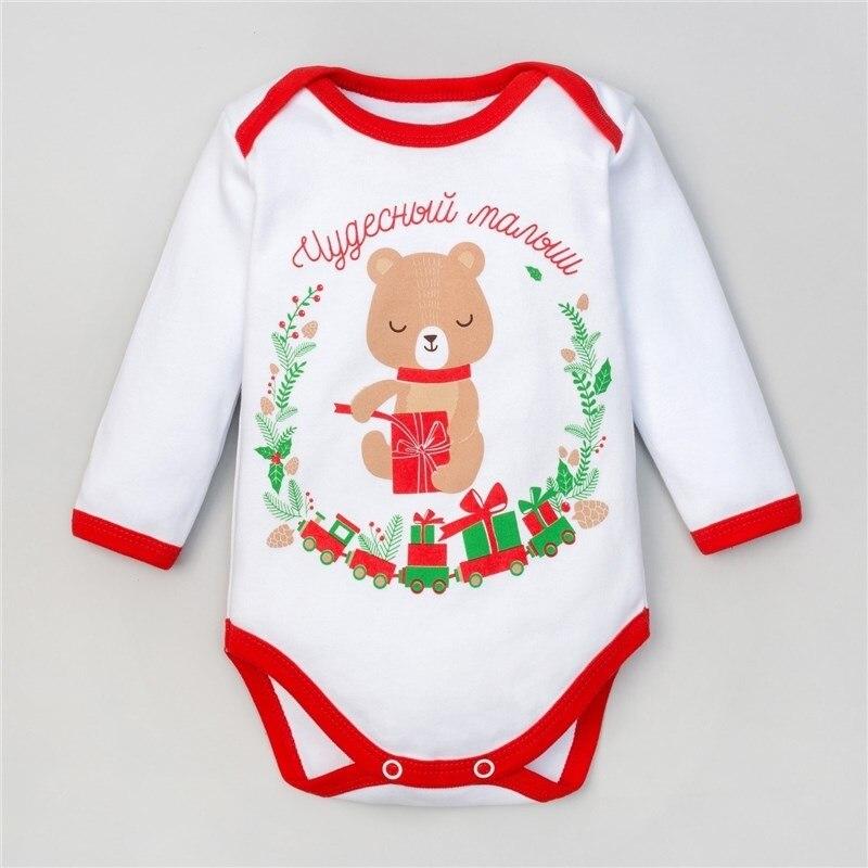 Bodysuit Crumb I Christmas Bear, height 86-92 cm (1,5-2g), 100% CHL, interlock dress 92 116 cm
