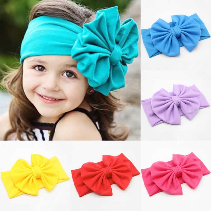 Adorable Baby Headband Velvet Bow Flower Hair Bands For Girls Headbands Elastic Hairbands Kids Headbands Girls Hair Accessories