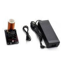 IG-Music катушка Tesla плазменный громкоговоритель с адаптером питания Беспроводная передача V8D5 US Plug