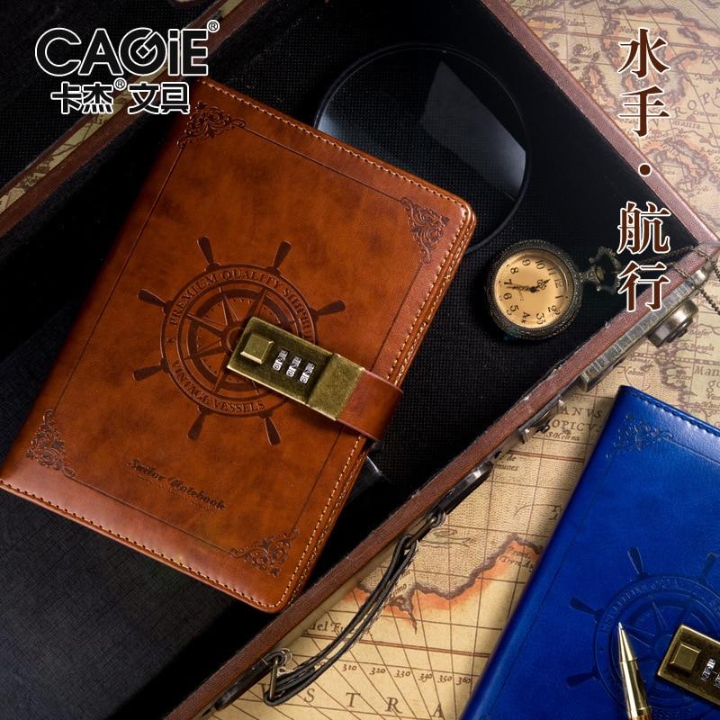 Notebooks & Schreibblöcke Jianwu Anlage Notebook Kreative Passwort Buch Mit Schloss 2019 Tagebuch Planer Kawaii Weichen Abdeckung Persönlichen Kugel Journal Kawaii