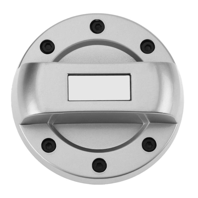 Universal Silver Gas Fuel Tank Cover Decorative Gasoline Cap for TOYOTA