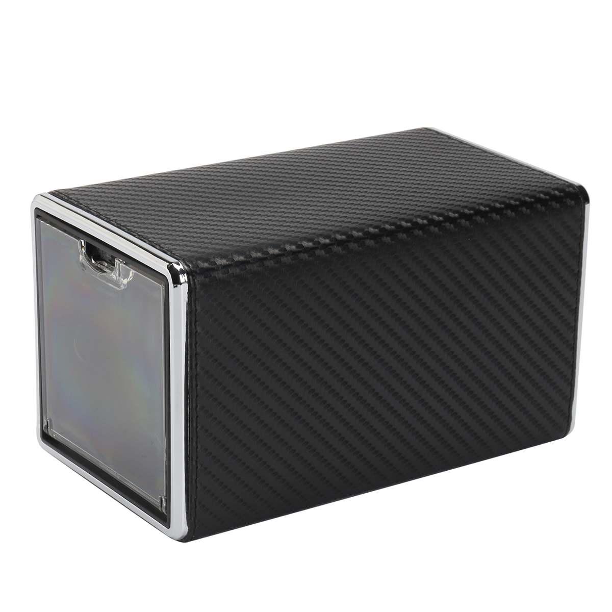 Rotation automatique montre boîte remontoir boîtes d'affichage Transparent couverture bijoux boîte d'affichage montres stockage organisateur sac nouveau