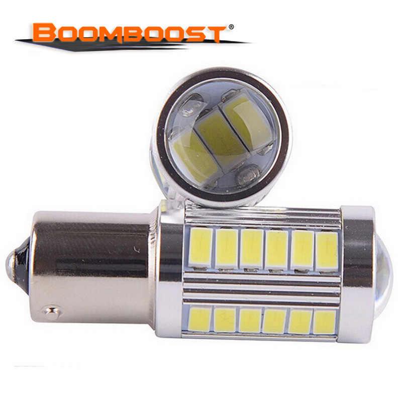 Светодиодный P21W 1156 BA15S 33 светодиодный лампы 5730 SMD из 2 предметов автомобиля 12 V