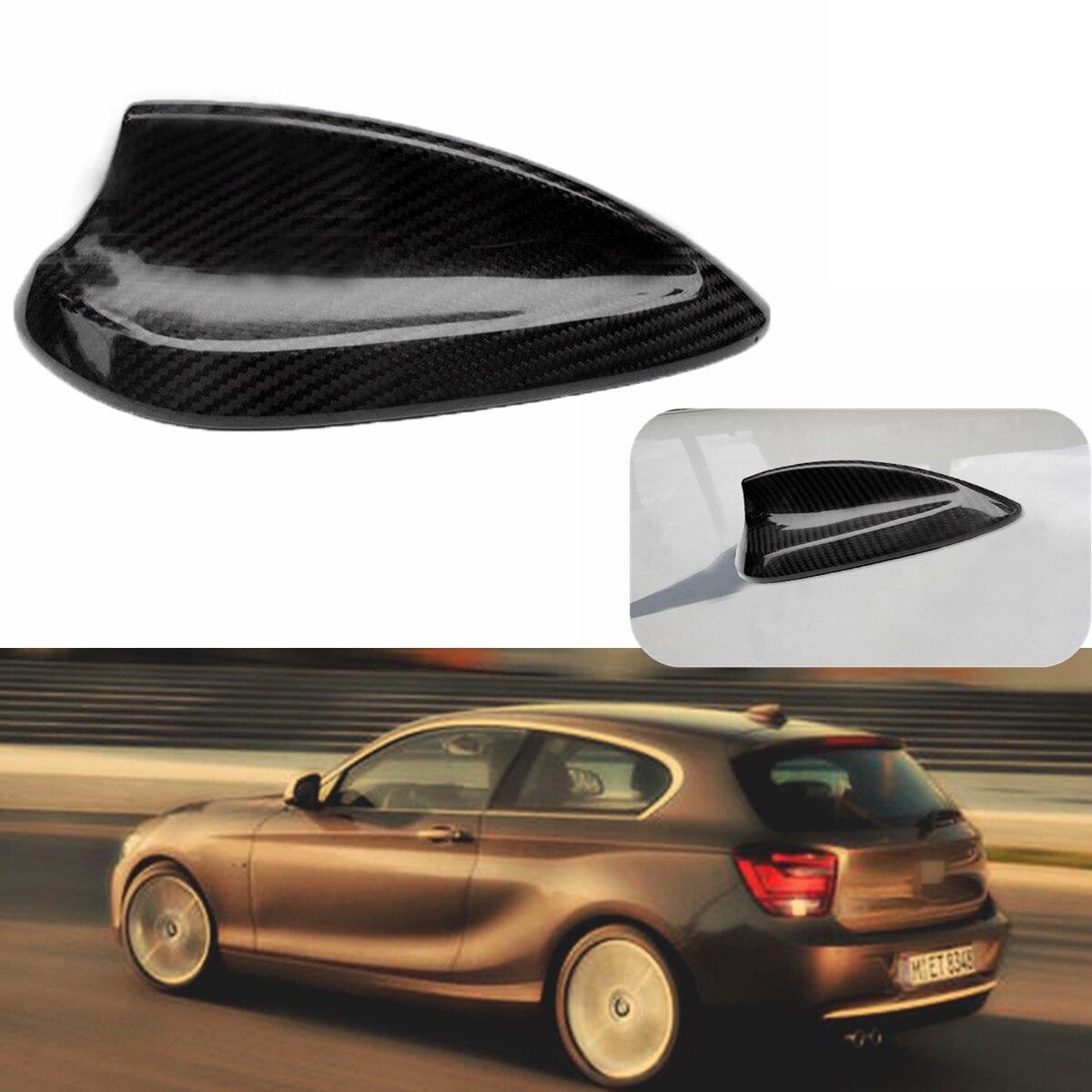 For BMW 1 2 3 4 Series F20 F22 F23 F30 F31 F32 F34 F35 F80 Universal Car Real Carbon Fiber Roof Shark Fin Aerial Antenna Sticker