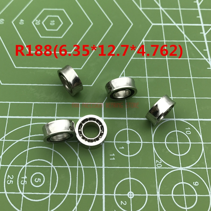 2019 Sale Rushed R188kk R188uu/ 10 Steel Balls / R188 Yoyo Ball Bearings U-groove Bearings(6.35*12.7*4.762)