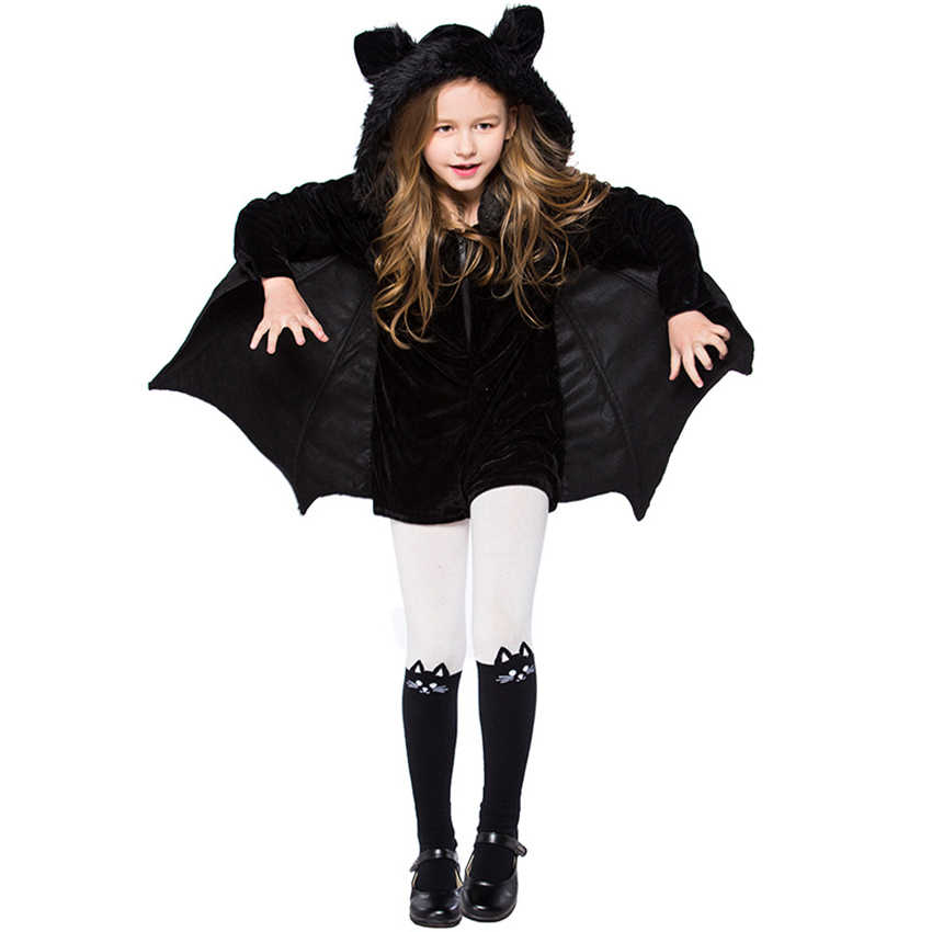 ... Halloween Costumes for Women Girls Vampire Cosplay Kids Bat Jumpsuit  Family Matching Clothes Mommy and Me ... f260a9357b5d