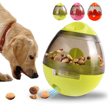Interactive Dog Toys IQ Trainner Smarter Food Dogs Ball Toy Treat Dispenser for Cats Playing Training Pets Supply 3 Colors