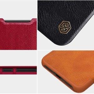 Image 5 - Para Xiaomi mi 9 SE casos wake up inteligente Nillkin Qin Série wallet Virar capa de Couro caso capa protetora para Xiaomi mi9 SE caso