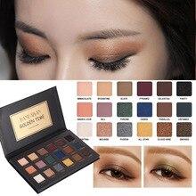 HANDAIYAN Pressed Matte Glitter Shimmer Palette Diamond Peach Neutral Eyeshadow Palette Eye Shadow Korean Makeup 4/6/18 Colors