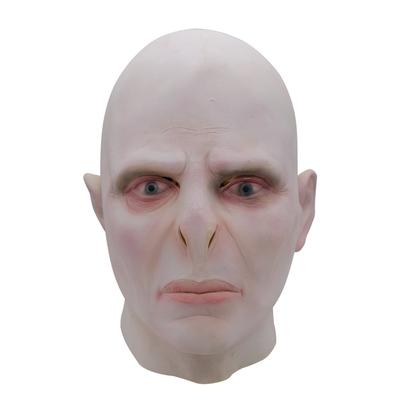 cosplay masks Harri Potter Lord Voldemort latex mask halloween party harry cosplay prop Full Head latex rubber hoods Unisex
