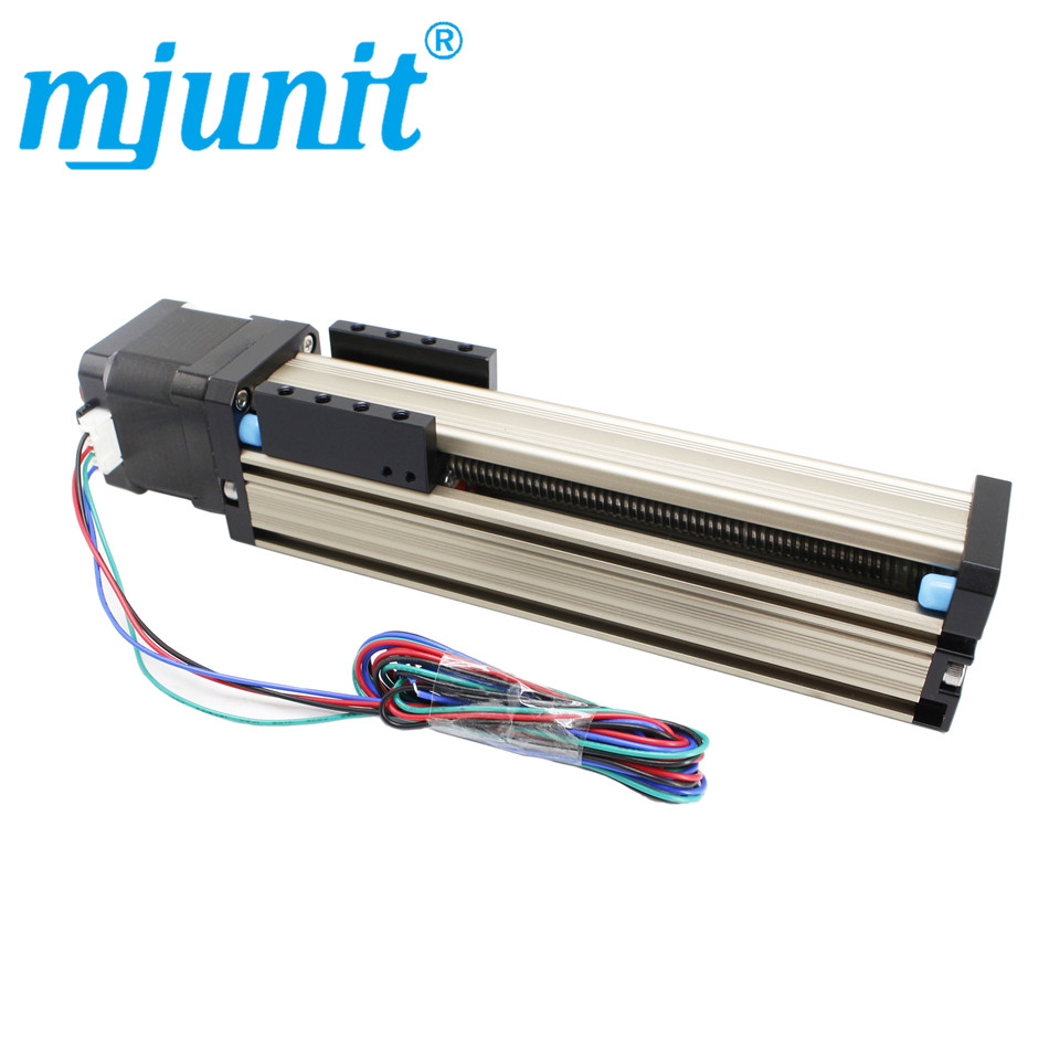Mjunit Screw guide slide table linear slide table linear module precision line rail CNC slide table module 100mm strokeMjunit Screw guide slide table linear slide table linear module precision line rail CNC slide table module 100mm stroke