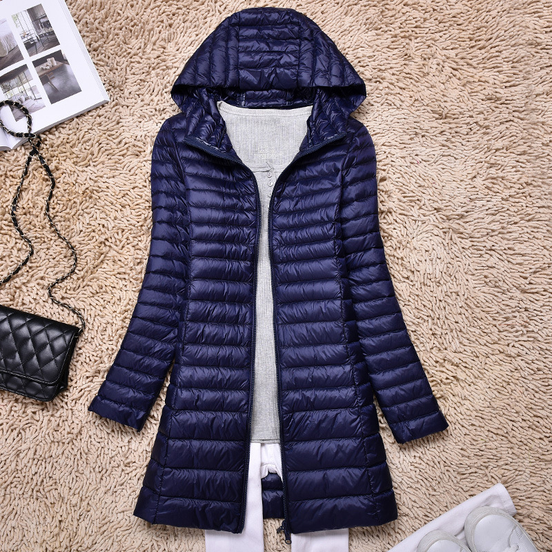 Women Ultralight Duck   Down     Coat   Jacket Winter Outwear Overcoat Quilted Plus Size