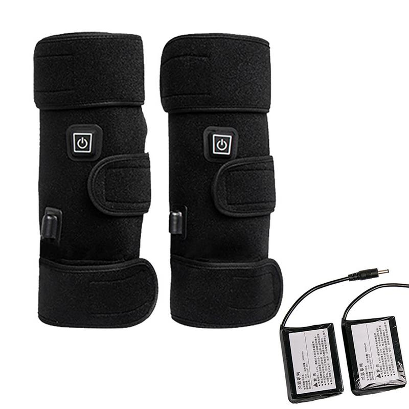 Winter Electric Heating Knee Pads Brace Sport Keep Warm Leg Joint Warmer Kneepad Strap jn 240010кjn