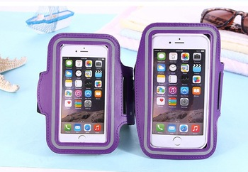 For Iphone XS MAX FOR Samsung Waterproof Sports Running Armband Case Pounch Cell Mobile Phone Arm Bag Band 400PCS/LOT