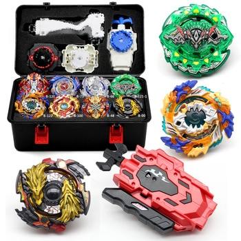 Neue Takara Tomy Bey Bay Burst Spielzeug Metall Funsion Set Lagerung Box Mit Griff Launcher Kunststoff Box Spielzeug Für Kinder klinge klinge