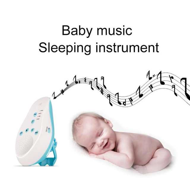 White Noise Machine Baby Sleep Soothers Music Sound Record Sensor Timer  Record Voice Sensor Music Timer