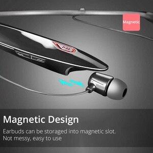 Image 5 - WXYY auriculares inalámbricos bluetooth, auriculares manos libres deportivos de gran capacidad con micrófono estéreo