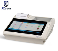 Original KT807 7 Android Tablet PC Pos Smart Terminal with 58mm Receipt Printer payment Fingerprint NFC Barcode Scanner RS232