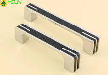 Modern Black Dresser Handles / Drawer Pulls Knobs Handles Cabinet Knob Kitchen Furniture Handle Hardware