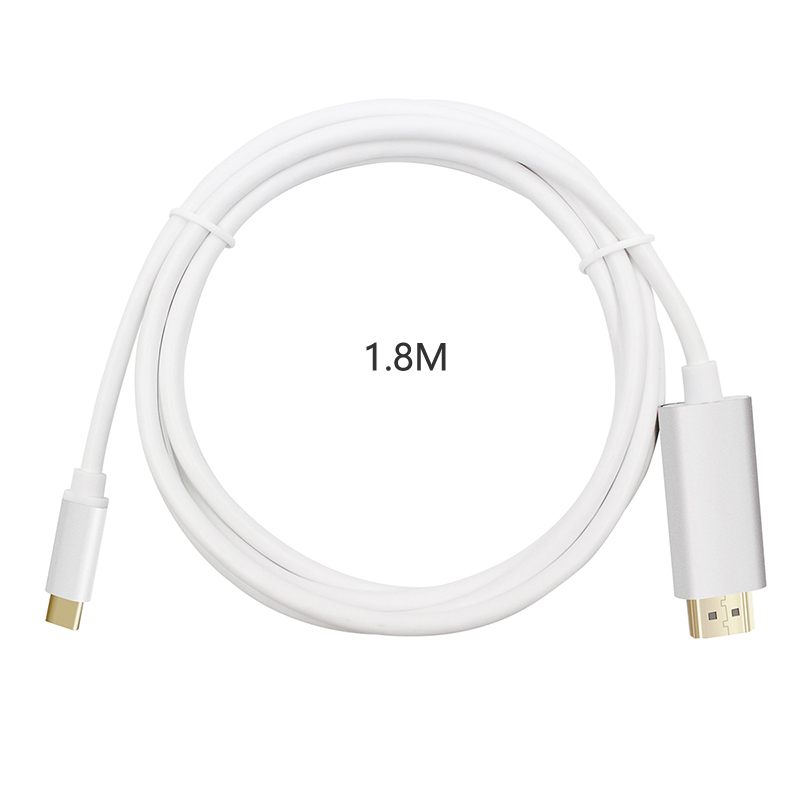 Type C HDMI USB C To HDMI 4K Cable Adapter Thunderbolt 3 For Huawei Mate 20 MacBook Pro Samsung Galaxy S9 HDMI USB-C