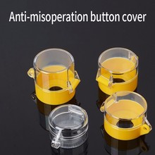 Urgent Button Switch Protect Shield Protection Cover Transparent 22mm Accident Cover Security Sit Round Defence Error