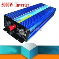 5000W Inverter Pure Sine Wave Inverter 10000W Peak Power 12V 230V 50HZ 5000W de onda senoidal pura Inversor