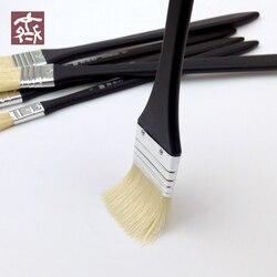 6 قطعة/المجموعة Qishuixuan 601 الرسام للنفط اللوحة غرامة الخشن زيت شعر فرشاة الاكريليك الطلاء فرشاة إمدادات فن الرسم جديد