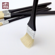6Pcs/Set Qishuixuan 601 Paintbrush For Oil Painting Fine Bristle Hair Oil Brush Acrylic Paint Brush Art Supplies For Drawing New
