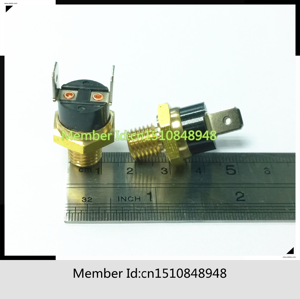 Temperature Screw cap KSD301 16A 250V 40C 155C 40 45 50 55 60 65 70 75 80 85 90 95 100 105 115 120 125 130 135 140 145 150 155 in Switches from Lights Lighting