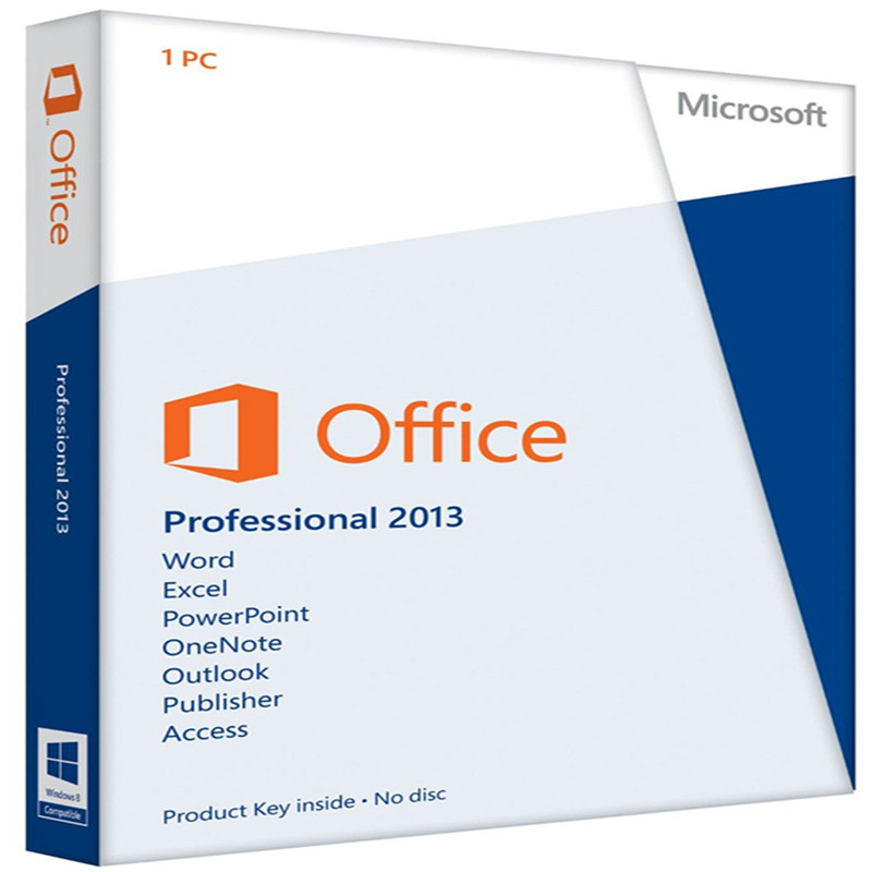 Image 2 - Microsoft Office Professional 2013 Retail Box with DVD For Windows