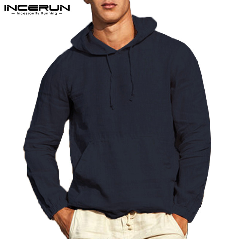 Brand Stylish Men Hoodies Pullover Sweatshirts Long Sleeve Solid Autumn Male Tops Hombre Outwears Fashion Hoody Button Khaki
