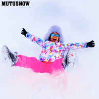 Winter Women Outdoor Ski Brands High Quality Warm Waterproof Windproof Clothes Snow Pants And Jacket Skiing Snowboarding Suits