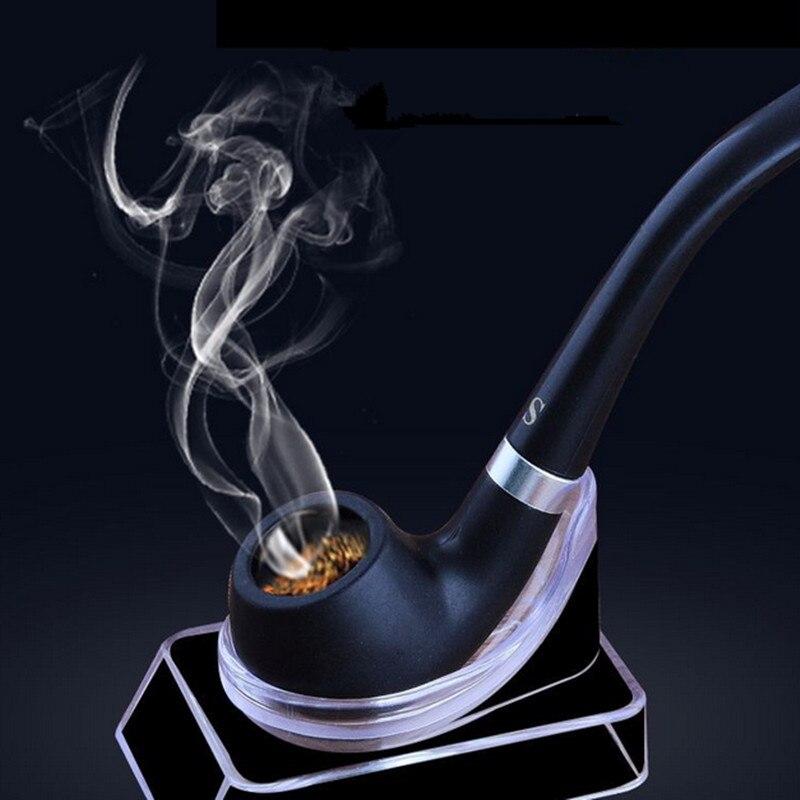1 Pz Nuovo Tubo Di Fumo Nero Di Piccola Durevoli Tubi Di Fumo Di Sigaretta Tubo Di Sigaro Nero Mini Tubo Freeshipping