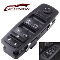 SPEEDWOW Car Electric Power Master Window Switch Button For 2009-2012 Dodge Ram 1500 2500 3500 OE#4602863AB 4602863AC 4602863AD