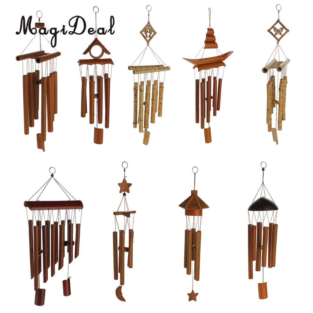 Home & Garden Large Amazing Wind Chimes 10 Tube Copper Church Bell Outdoor Garden Decoration Vivid And Great In Style Wind Chimes & Hanging Decorations