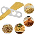 Кухонные аксессуары 1 шт 4 отверстия Измеритель для спагетти макаронные изделия лапша мерная нержавеющая сталь