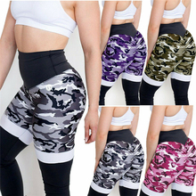 NEW Fashion Summer Womens Short Camouflage High Waist Fitness Gym Bandage Casual Shorts Scanties