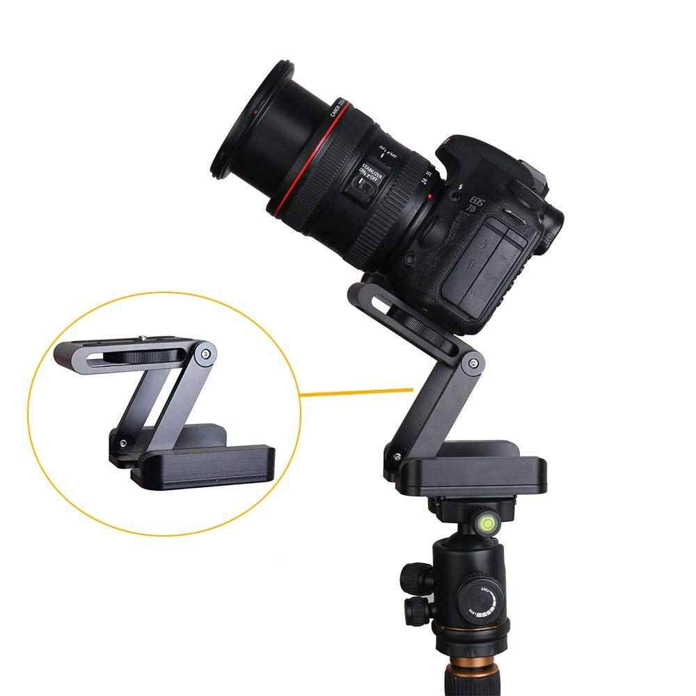 Складной Z Pan наклон штатива головка БЫСТРОРАЗЪЕМНАЯ пластина Держатель для DSLR камеры видеокамеры Аксессуары для фотосъемки подключение трек слайдер
