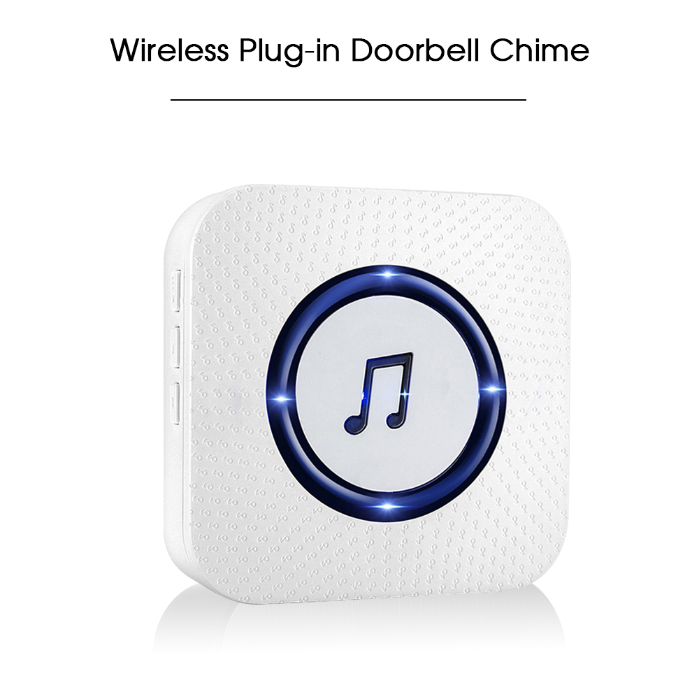 Doorbell Shop For Cheap Wireless Mini Size Door Bell Outdoor Push Button Ip55 Waterproof Doorbell Elegant Design Sensitive Transmission Grade Products According To Quality