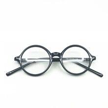 16f89ef200 Vintage Round Eyewear Frames Women Men Clear Lens Harry Potter Eyeglasses  Optical Spectacles Frames Prescription Myopia