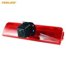 FEELDO Bulit Câmera de Backup Luz de Freio Do Carro-Em LED Para Volkswagen Caddy 03-15 Reversa Retrovisor Camera # MX1882