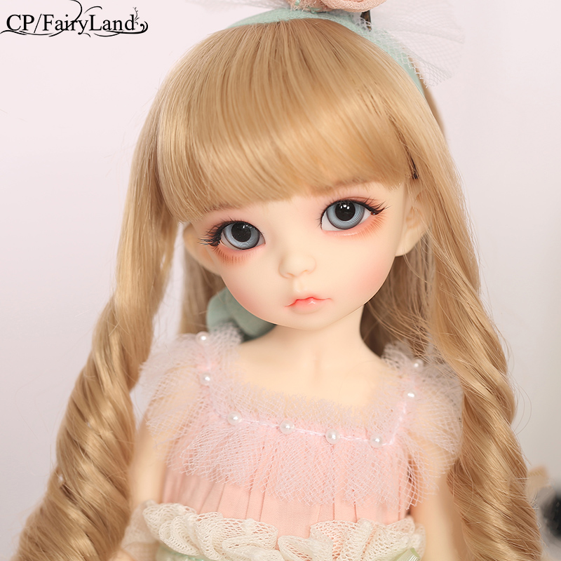 BJD Dolls Littlefee Ante 1/6 Yosd Pink Rose Golden Krøllete Hår Lolita Fullset Alternativ Girl Toys For Girls Best Gift Fairyland FL