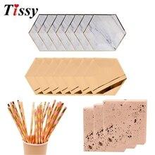 Jednorazowe zastawa stołowa różowe złoto imitacja marmuru płyta złocenie papierowe słomki/dekoracja CupTable ślub/urodziny/zaopatrzenie firm