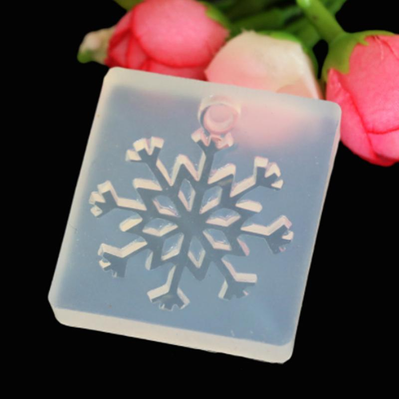 DIY With A Hole Snowflake Hand Mold Pendant Silicone Mold Resin Making Tool  DIY Silicone Resin Mold, Pendant DIY Handmade Mold